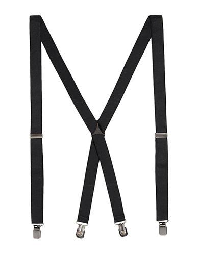 Topman Skinny Suspenders-BLACK-One Size