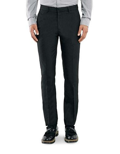 Topman Skinny Dress Pants-BLACK-34