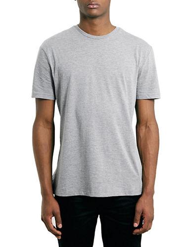 Topman Slim Fit Crew Neck T-Shirt-GREY-Medium 88385717_GREY_Medium