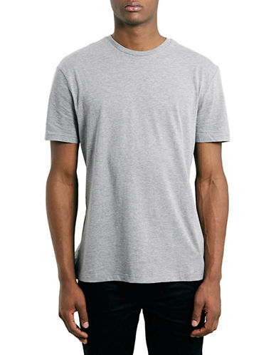 Topman Slim Fit Crew Neck T-Shirt-GREY-Small 88480442_GREY_Small