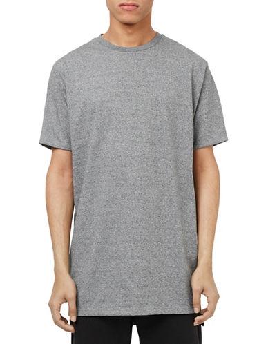 Topman Longline T-Shirt-GREY-Large 88441840_GREY_Large