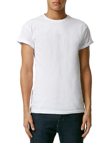 Topman Roller T-Shirt-WHITE-Medium