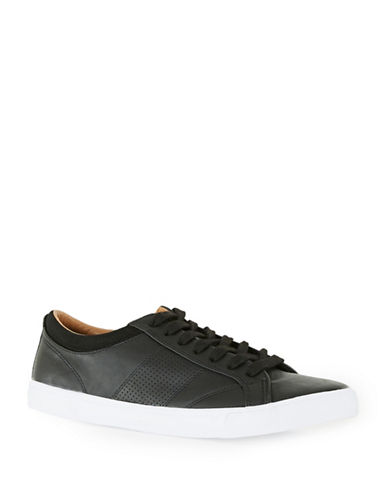 Topman Youth Sneakers-BLACK-EU 43/US 10