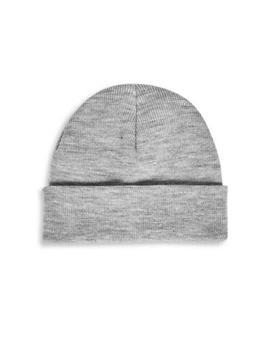 Topman Brian Classic Tuque-LIGHT GREY-One Size