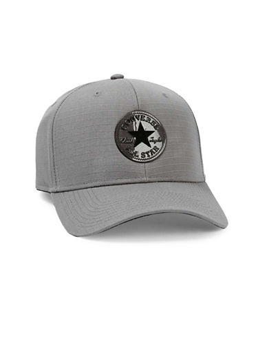 Topman Converse Curved Peak Baseball Cap-GREY-One Size 89094557_GREY_One Size