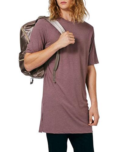 Topman Super Longline T-Shirt-PINK-Large 88833499_PINK_Large