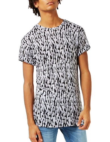 Topman Paint Dash T-Shirt-WHITE-X-Large 88938956_WHITE_X-Large