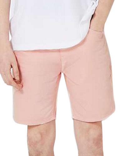 Topman Sonny Slim Fit Denim Shorts-PINK-36