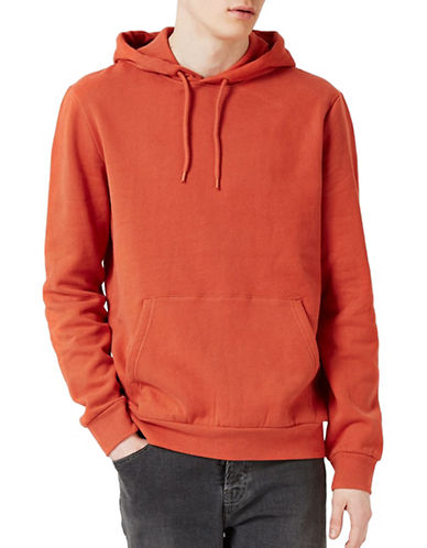 Topman Jax Hoodie-ORANGE-X-Small