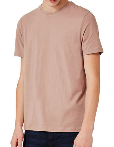 Topman Slim Fit T-Shirt-LIGHT BROWN-Medium