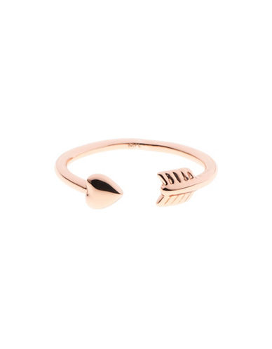 Ted Baker London Cassea Cupids Arrow Ring-ROSE GOLD-One Size