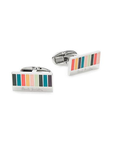 Paul Smith Multi-Striped Cufflinks-MULTI-COLOURED-One Size