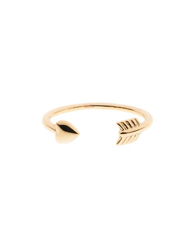 Ted Baker London Cassea Cupids Arrow Ring-GOLD-One Size