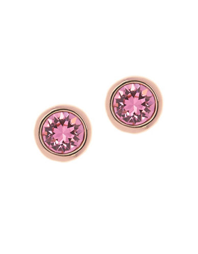 Ted Baker London Sinaa Swarovski Crystal Stud Earrings-BRIGHT PINK-One Size