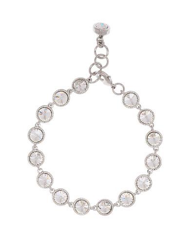 Ted Baker London Raalyn Rivoli Swarovski Crystal Single Strand Bracelet-SILVER-One Size