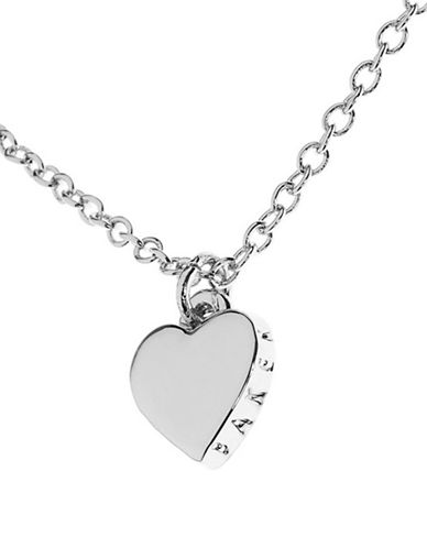 Ted Baker London Hara Tiny Heart Pendant Necklace-SILVER-One Size