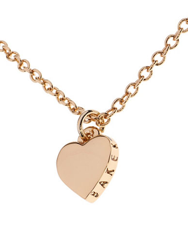 Ted Baker London Hara Tiny Heart Pendant Necklace-GOLD-One Size