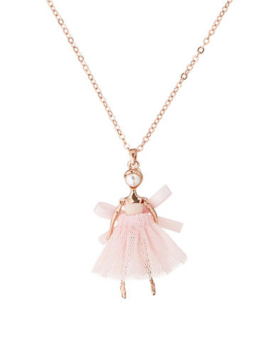 Carabel mini ballerina pendant necklace hudsons bay mozeypictures Image collections
