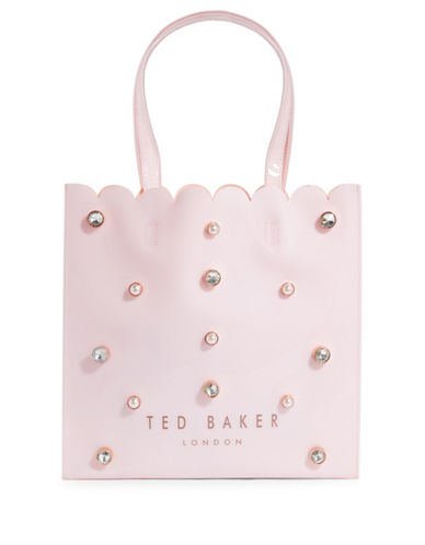 Ted Baker London Embellished Large Tote-PINK-One Size