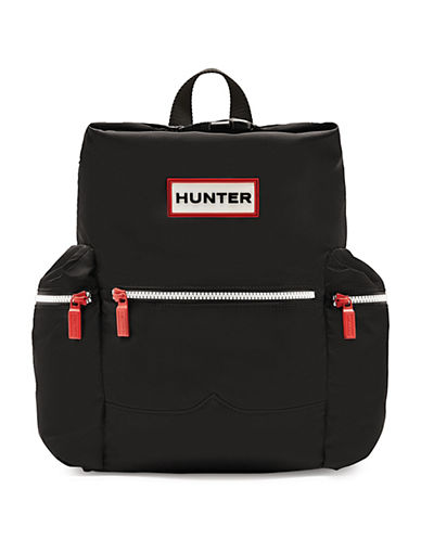 Hunter Original Nylon Mini Backpack-BLACK-One Size 89169615_BLACK_One Size