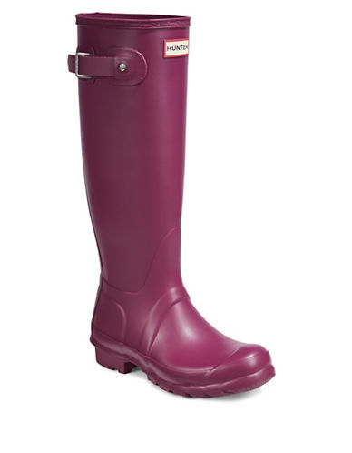 Hunter Original Tall Rain Boots-PURPLE-8