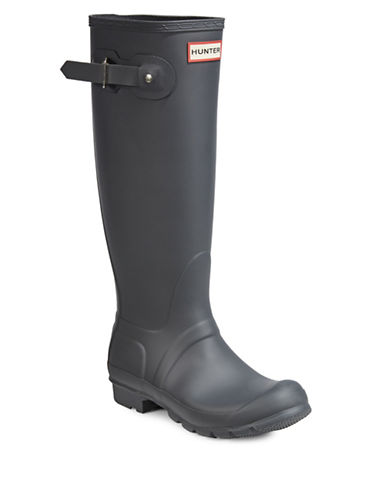 Hunter Original Tall Rain Boots-GREY-9