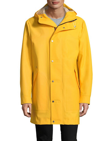 Hunter Original Rubberized Hunting Coat-YELLOW-Large