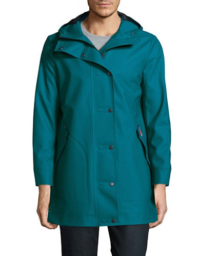 Hunter Original Rubberized Hunting Coat-BLUE-Large