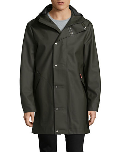 Hunter Original Rubberized Hunting Coat-GREEN-Medium