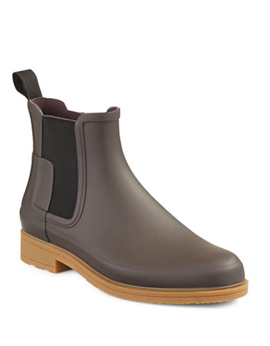Hunter Original Refined Chelsea Boots-COPPER-9