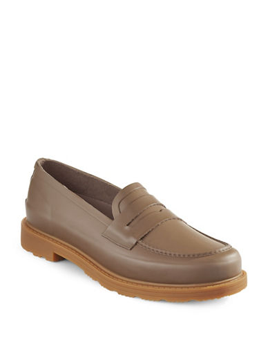 Hunter Penny Loafers-BROWN-8