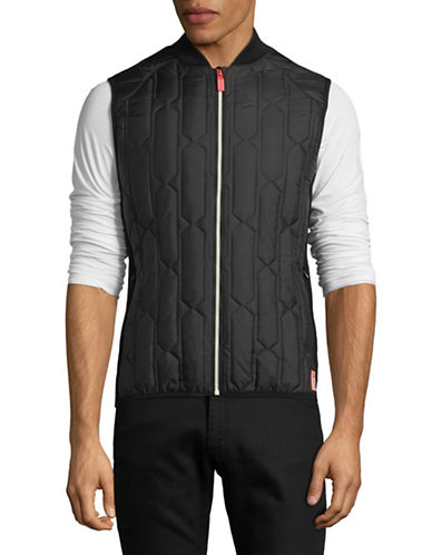 Hunter Original Mid-Layer Gilet-BLACK-Medium