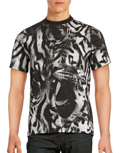 Ps By Paul Smith Leopard T-Shirt-GREY-Medium 88577771_GREY_Medium