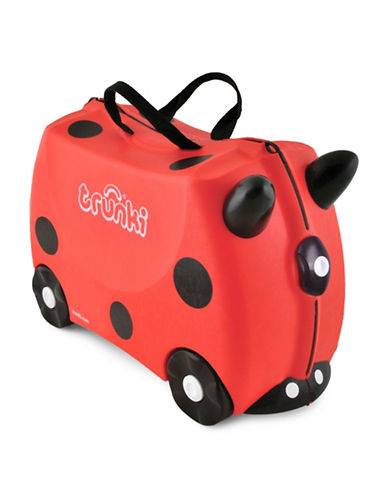 Trunki Ride-On Suitcase Harley Ladybug-RED-One Size