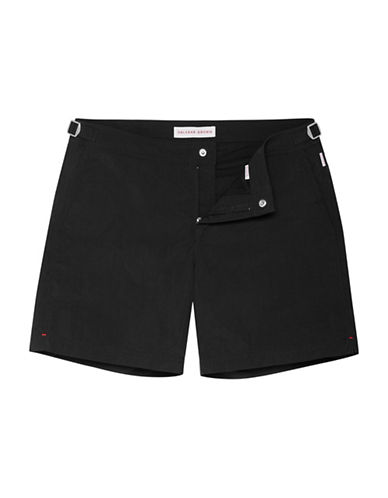Orlebar Brown Mid-Rise Swim Shorts-BLACK-32