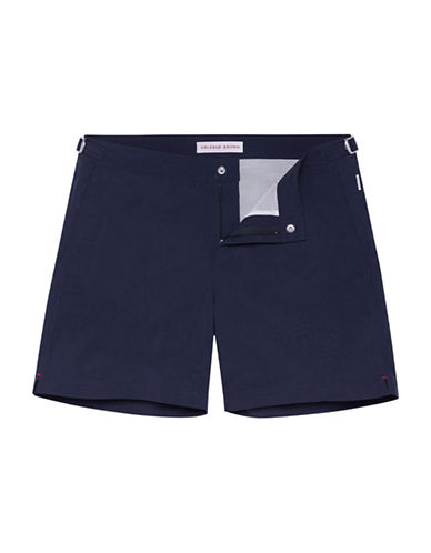 Orlebar Brown Mid-Rise Swim Shorts-NAVY-32