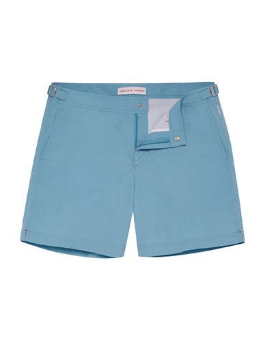 Orlebar Brown Mid-Rise Swim Shorts-BLUE-38