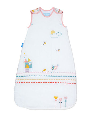 Grobag 2.5 Tog Garden Print Sleeping Bag-WHITE-0-6 Months