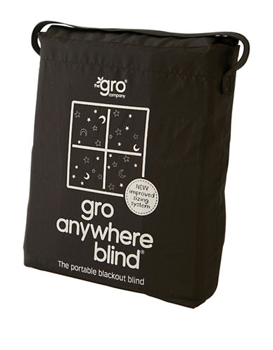 Grobag Gro-Anywhere Blackout Blind-BLACK-One Size