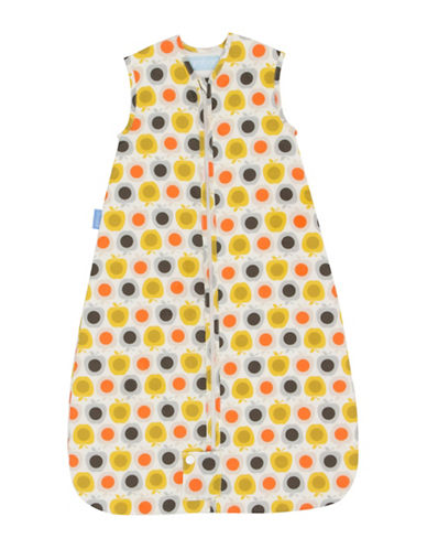 Grobag Apple Print Travel Grobag - Baby Sleep Bag-YELLOW-6-18 Months