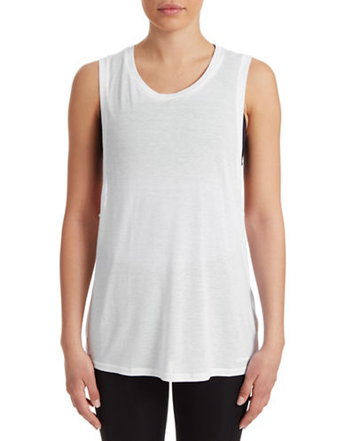Ivy Park Jersey Tank Top-WHITE-X-Large 88384614_WHITE_X-Large