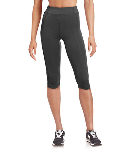 Ivy Park Y - High-Rise Capri Leggings-GREY-X-Small