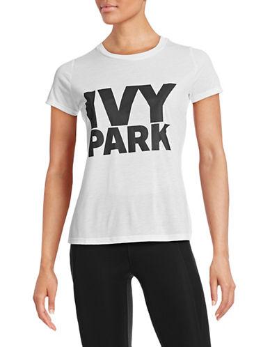 Ivy Park Logo Crew Neck Tee-WHITE-Large 88384570_WHITE_Large