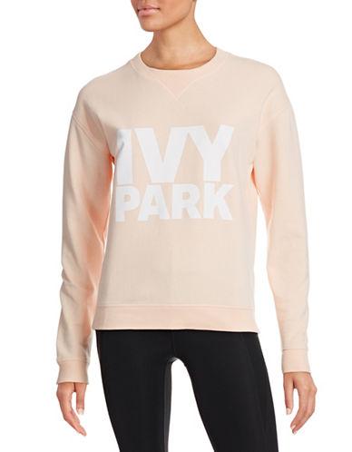 Ivy Park Logo Crew Neck Sweatshirt-PINK-Large 88384530_PINK_Large