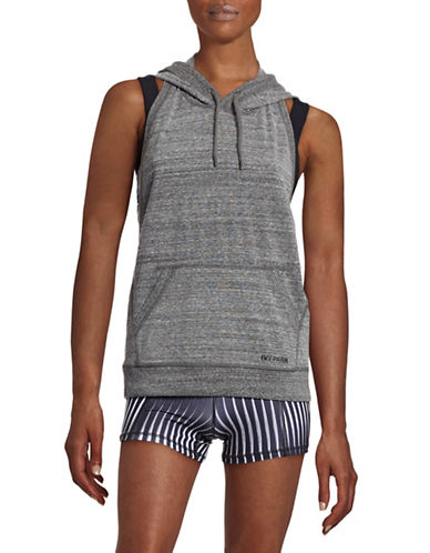 Ivy Park Extra Soft Backless Hoodie-GREY-X-Large 88392004_GREY_X-Large