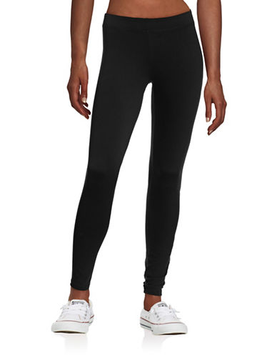 Ivy Park Logo Ankle Leggings-BLACK-X-Small 88392026_BLACK_X-Small