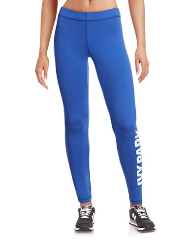 Ivy Park Logo Ankle Leggings-BLUE-X-Large 88384373_BLUE_X-Large