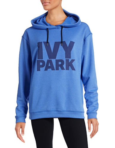 Ivy Park Logo Hoodie-BLUE-X-Small 88468664_BLUE_X-Small