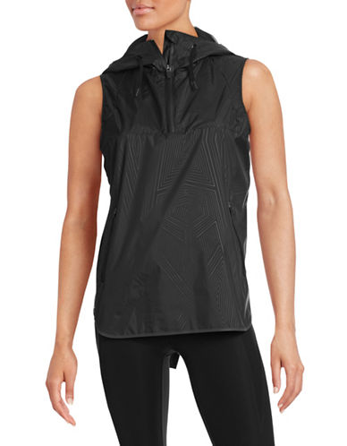 Ivy Park Hooded Sleeveless Jacket-BLACK-Large 88384369_BLACK_Large