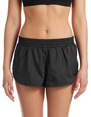Ivy Park Mesh Insert Running Shorts-BLACK-Large 88384520_BLACK_Large